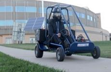 Students Build a Go-Cart pic